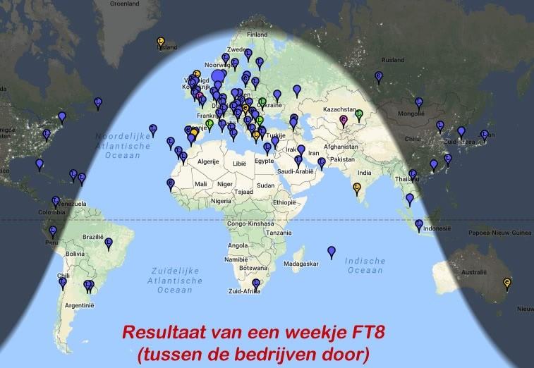 FT8 instellingen voor SmartSDR van FlexRadio